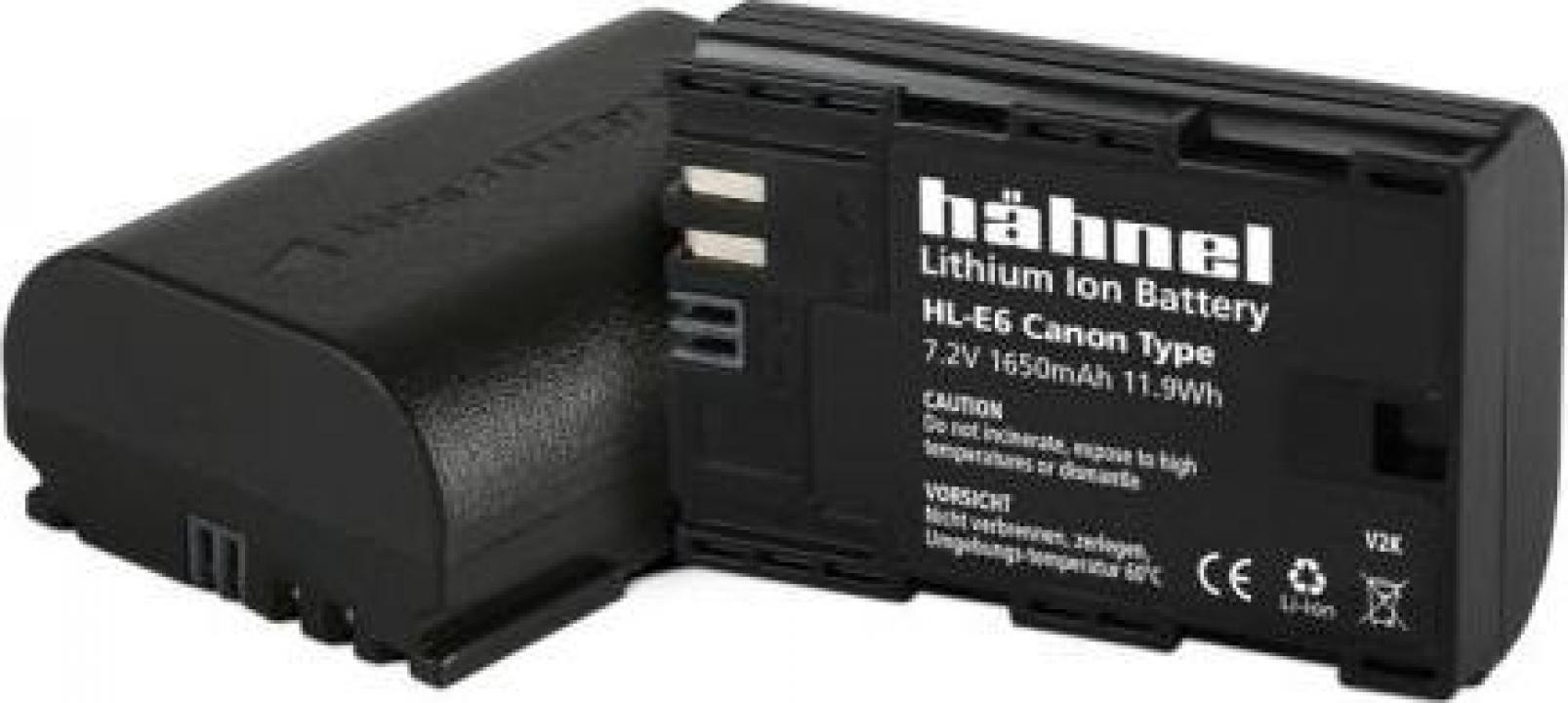 Acumulator Hahnel HL-E6 Canon LP-E6 1650mAh