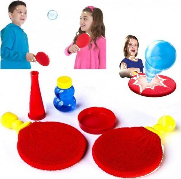 Joc ping-pong cu baloane de sapun care nu se sparg 4948F